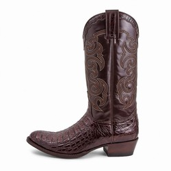 Bottes 10004 Dom Alligator marron Unisexe