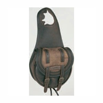 Sacoche simple cuir comanchero B051-22 Sacoches, trousses Sacoches de selle com-B051-22