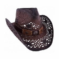 Chapeau Pure country marron Bullhide