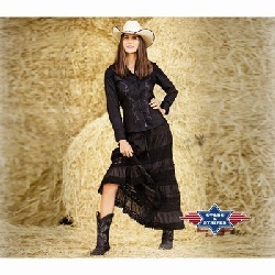 Jupe western Elena Stars and Stripes