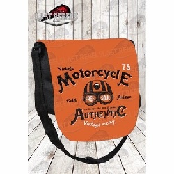 Besace avec rabat sublimé Motorcycle Authentic