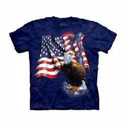 T-shirt Eagle flag MT1000