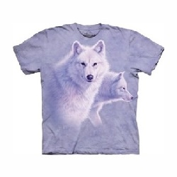 T-shirt graceful white wolf MT1093
