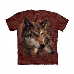 T-shirt forest wolves MT3830