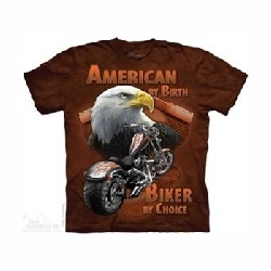T-shirt american by birth MT4055