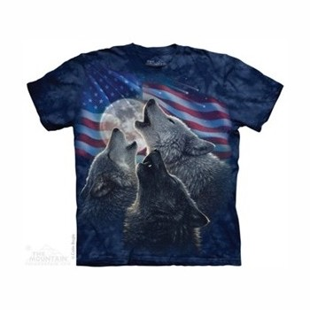 T-shirt wolf trinity MT8607 Tee Shirt, débardeurs The Mountains MT-8607