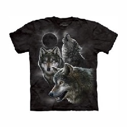 T-shirt Eclipse de Loups MT3398