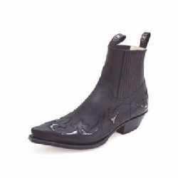 Bottines 6799P Pull Oil Negro Python Unisexe