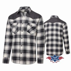 Chemise western homme A-05