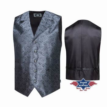 Gilet sans manche Clay Stars and Stripes Gilets coupe homme st-clay