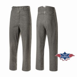 Pantalon Fargo taille haute Stars and stripes