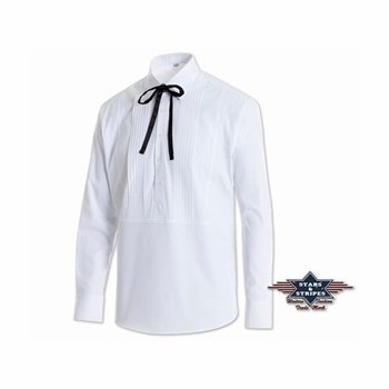 Chemise Joseph blanche Stars and Stripes Chemises Manches longues Homme st-josephw